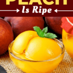 How To Tell If A Peach Is Ripe