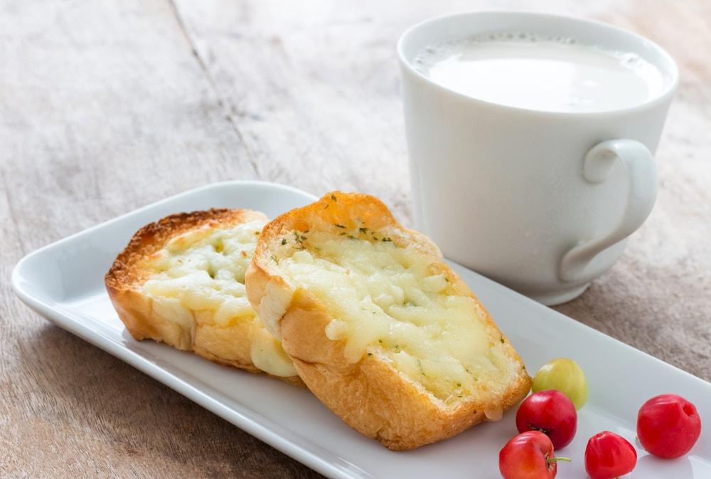 Mozzarella and Honey French Toast