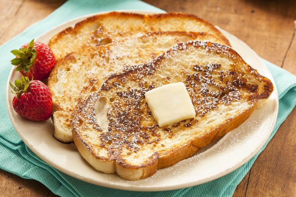 Powdered Sugar French Toast