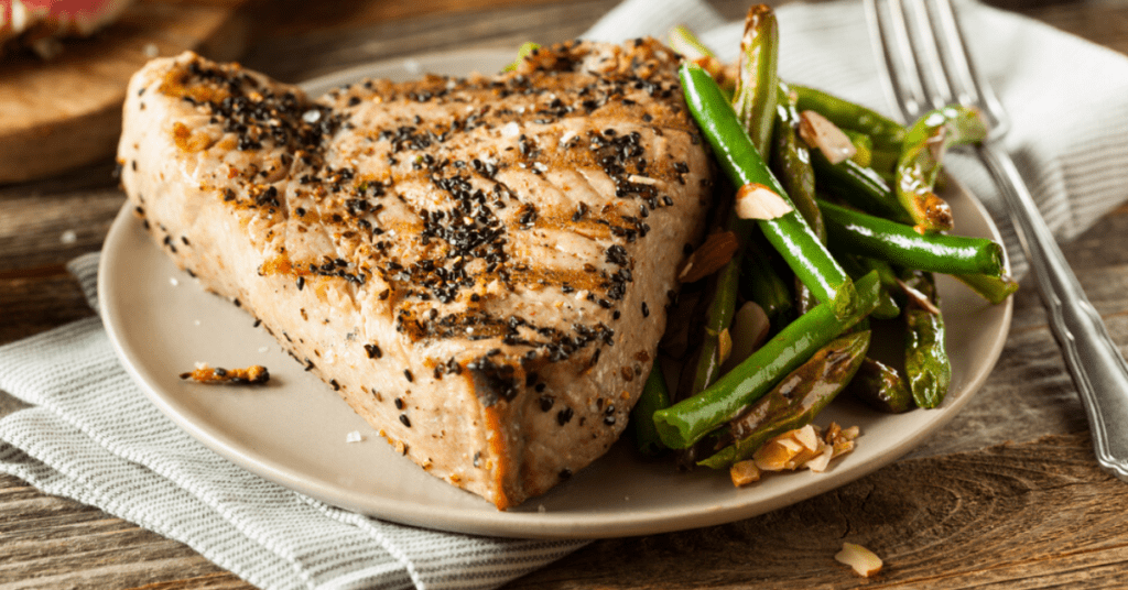 Roasted Tuna Steak