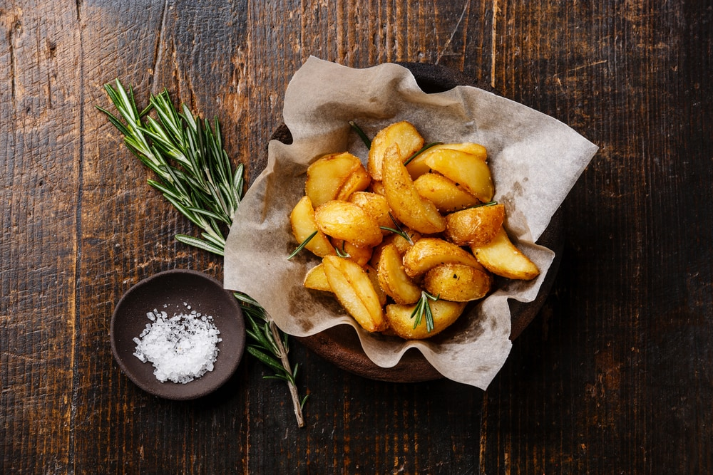 Roasted Potato With Salt and Vinegar