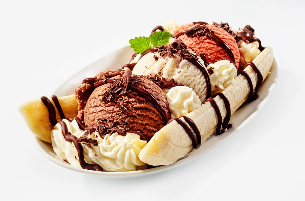 Banana Split with Spices