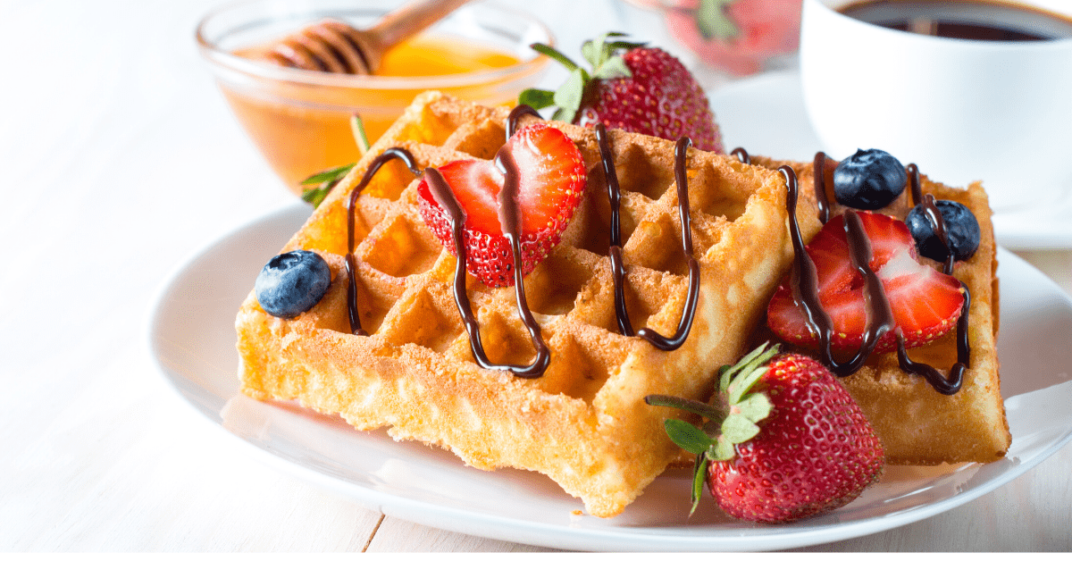 14 Waffle Toppings for Breakfast, Lunch, or Dinner