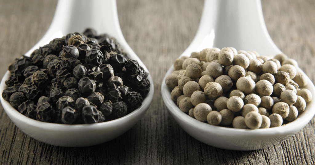 White Pepper Vs Black Pepper Insanely Good