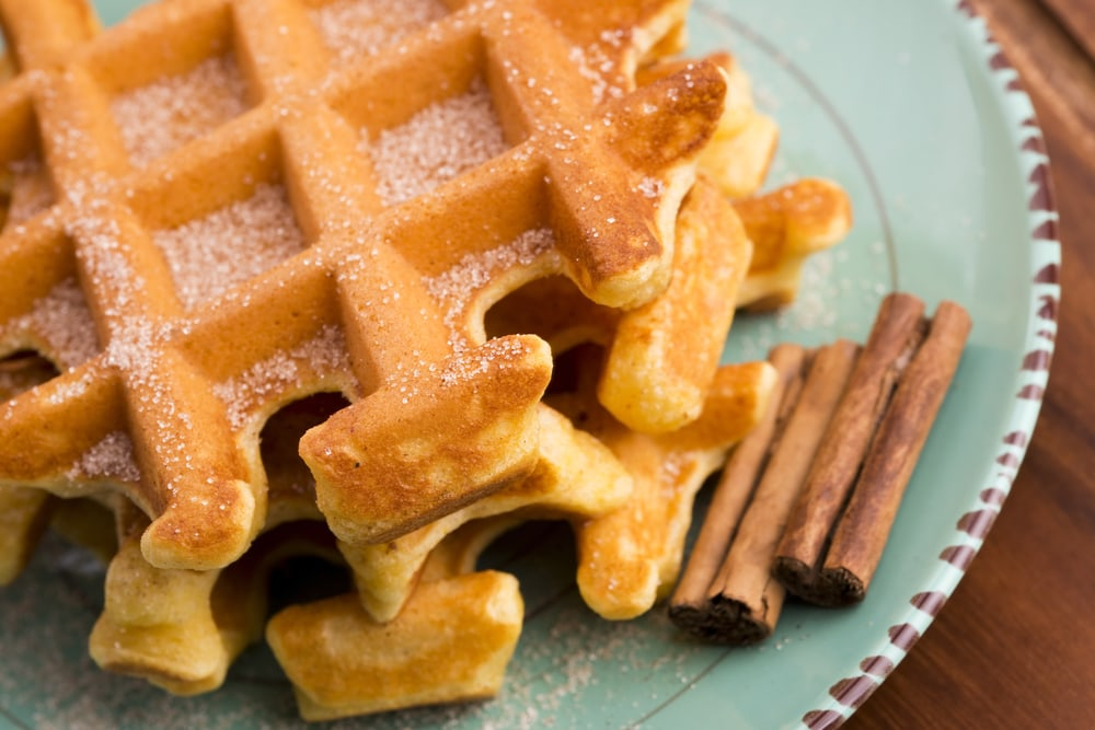 Cinnamon Sugar Waffle