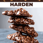 How to Make No Bake Cookies Harden