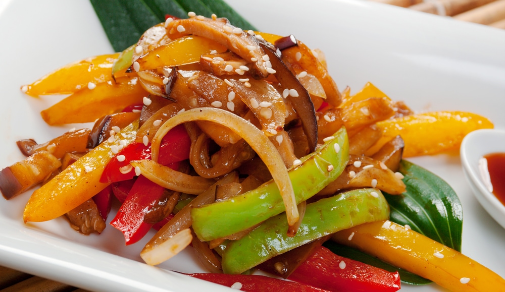 Vegetables in Soy Sauce