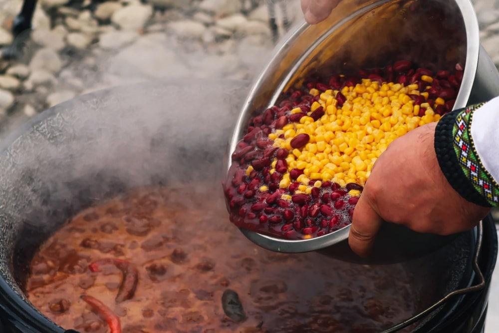 Adding Beans or Corn