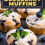Bisquick Bluberry Muffins