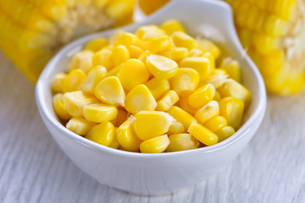 Bowl of Fresh Corn