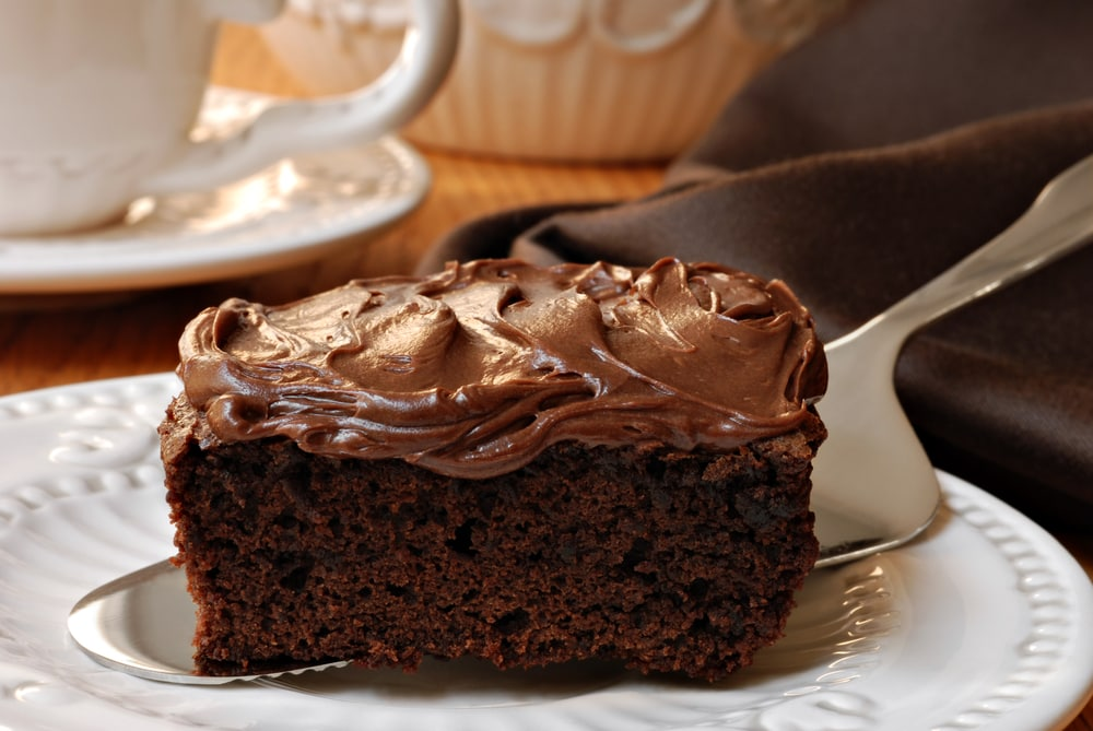 Chocolate Frosted Brownie