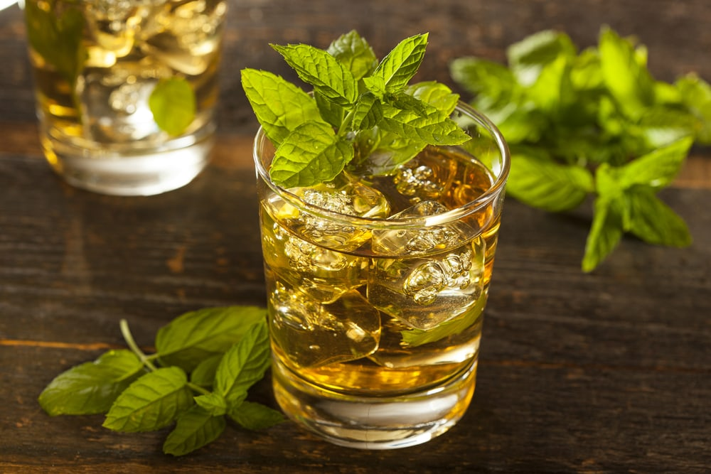 Homemade Mint Julep