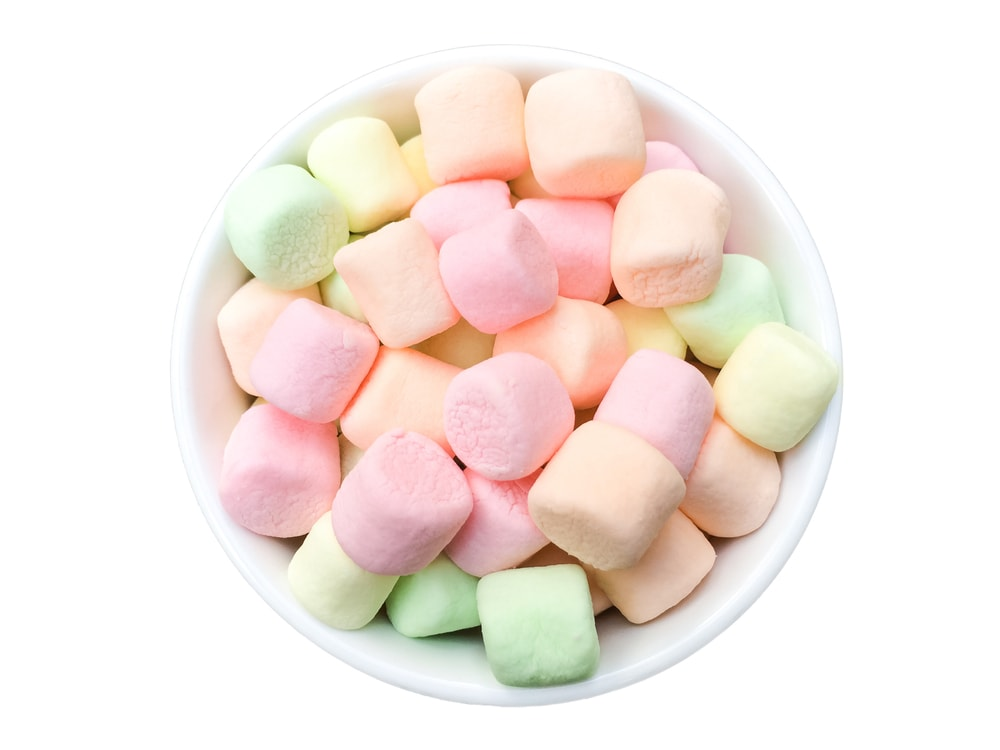 Colorful Mini Marshmallows