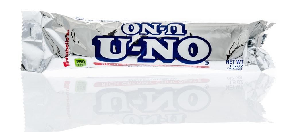U-No Chocolate Candy Bar