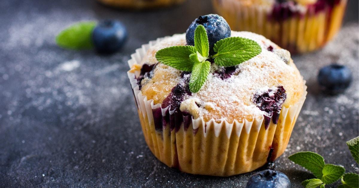 Bisquick Blueberry Muffin