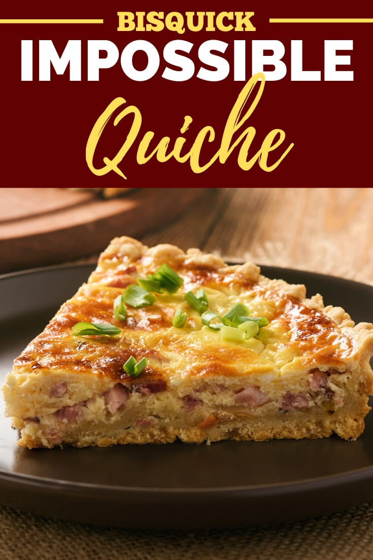 Bisquick Impossible Quiche