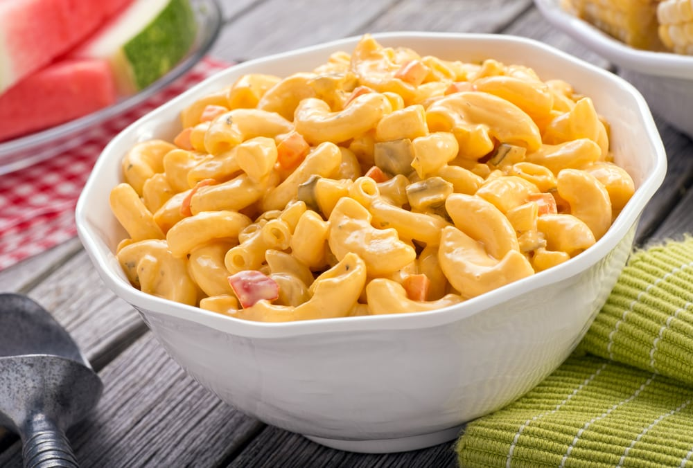 Mac and Cheese With Corn