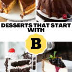 Desserts That Start With B