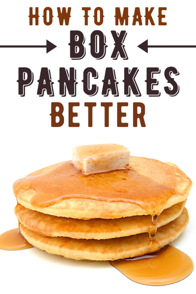 How to Make Box Pancakes Better