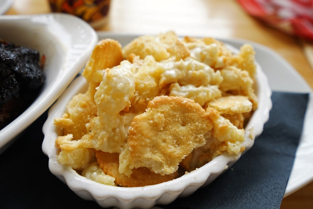 Butter Crackers Mac and Cheese