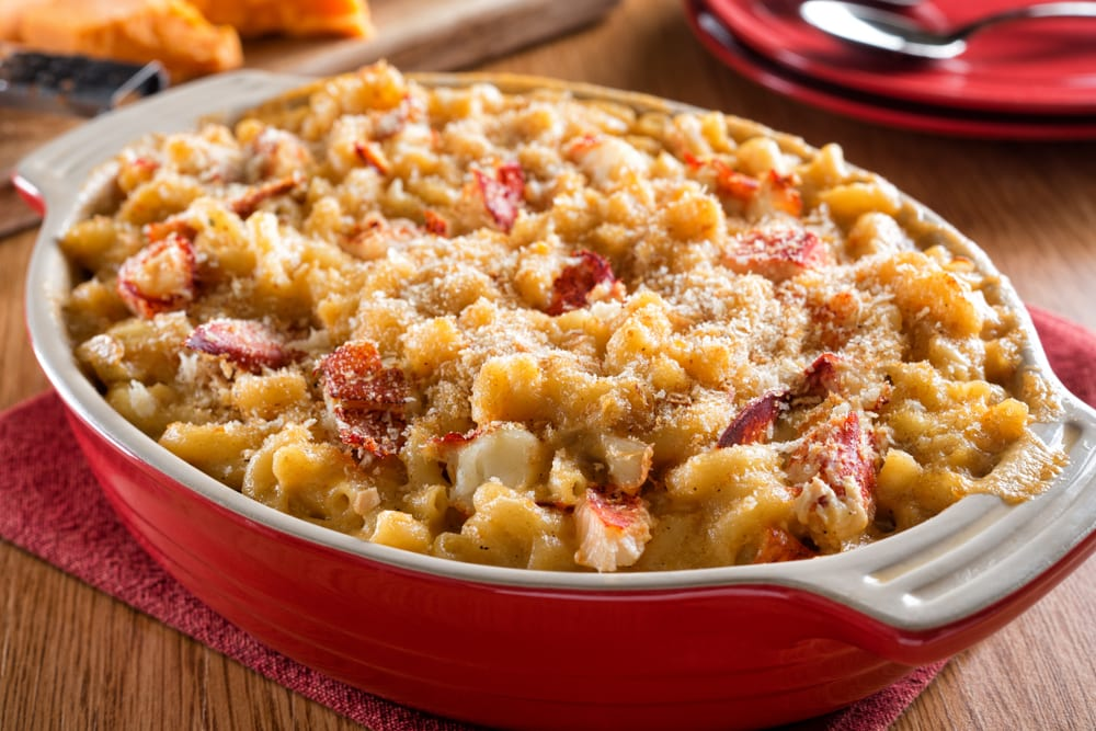 Mac and Cheese with Lobster Meat