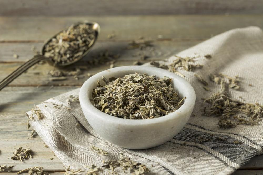 Organic Dry Green Sage