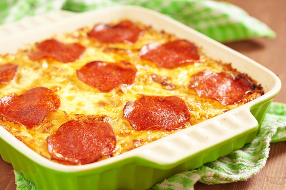 Pepperoni Mac and Cheese
