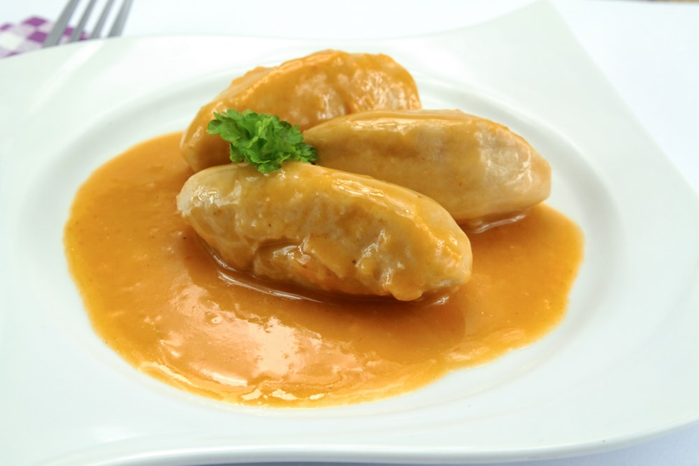Pike Dumplings With Nantua Sauce