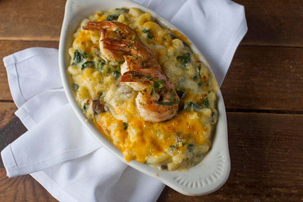 Mac And Cheese With Shrimp