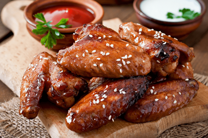 How Long to Bake Chicken Wings (+ Easy Recipe!)