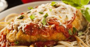 Chicken Parmesan with Pasta