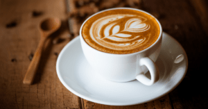 Cup of Creamy Coffee