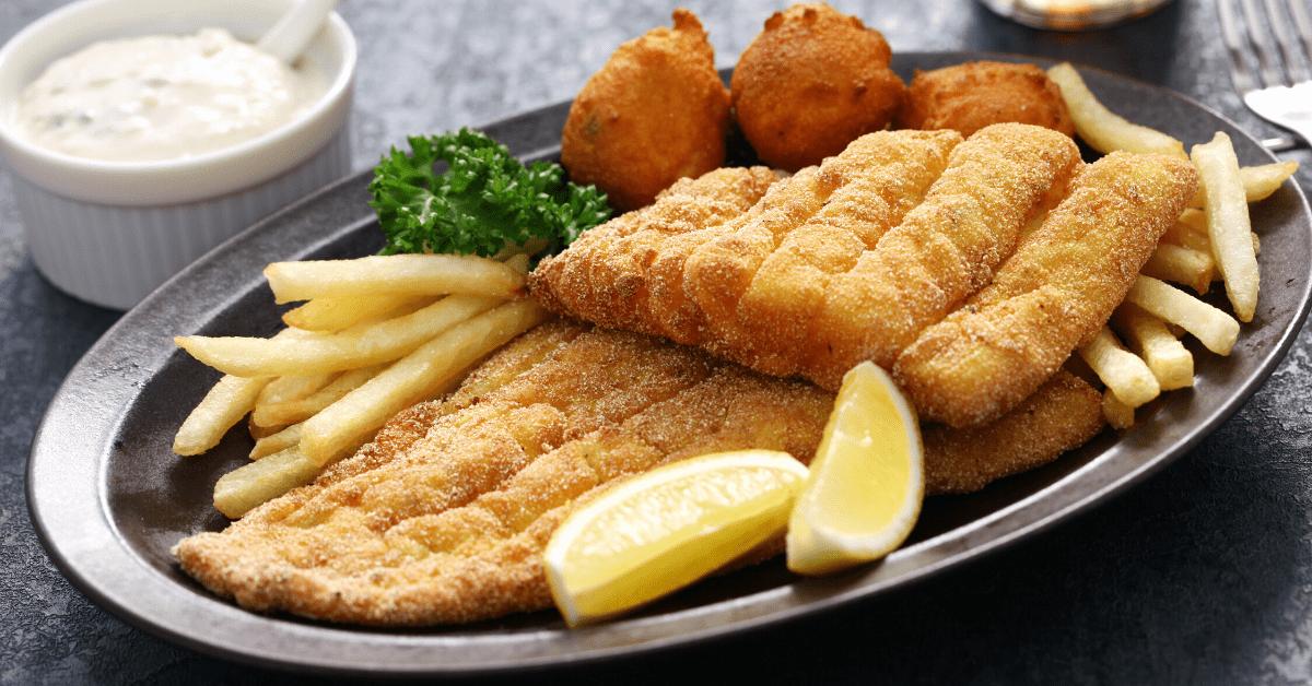 Homemade Fried Catfish
