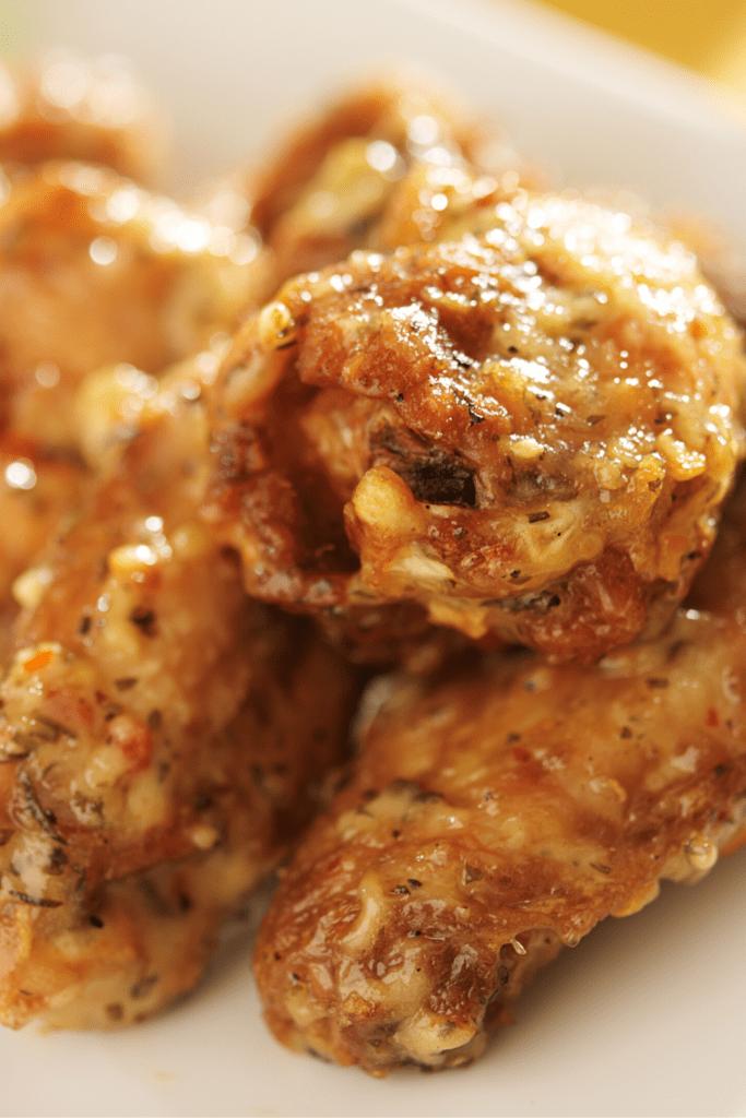 Homemade Wingstop Garlic Parmesan Chicken Wings