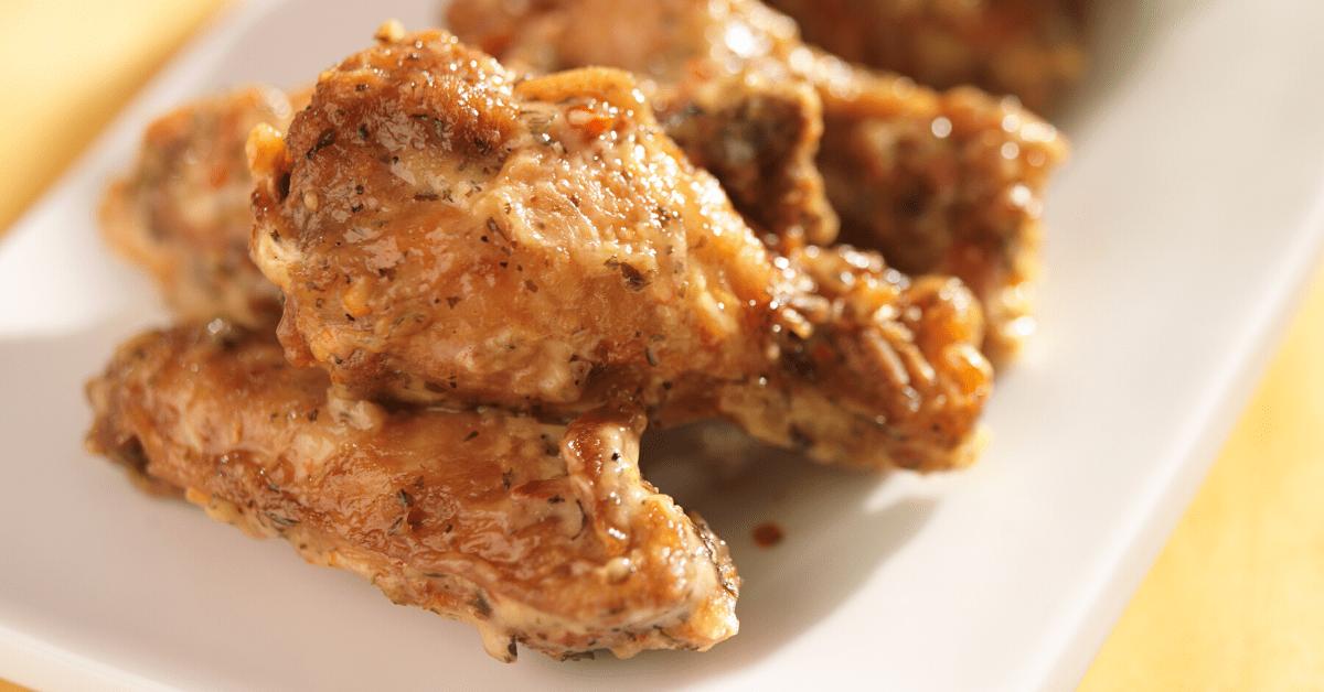 Homemade Wingstop Garlic Parmesan Wings