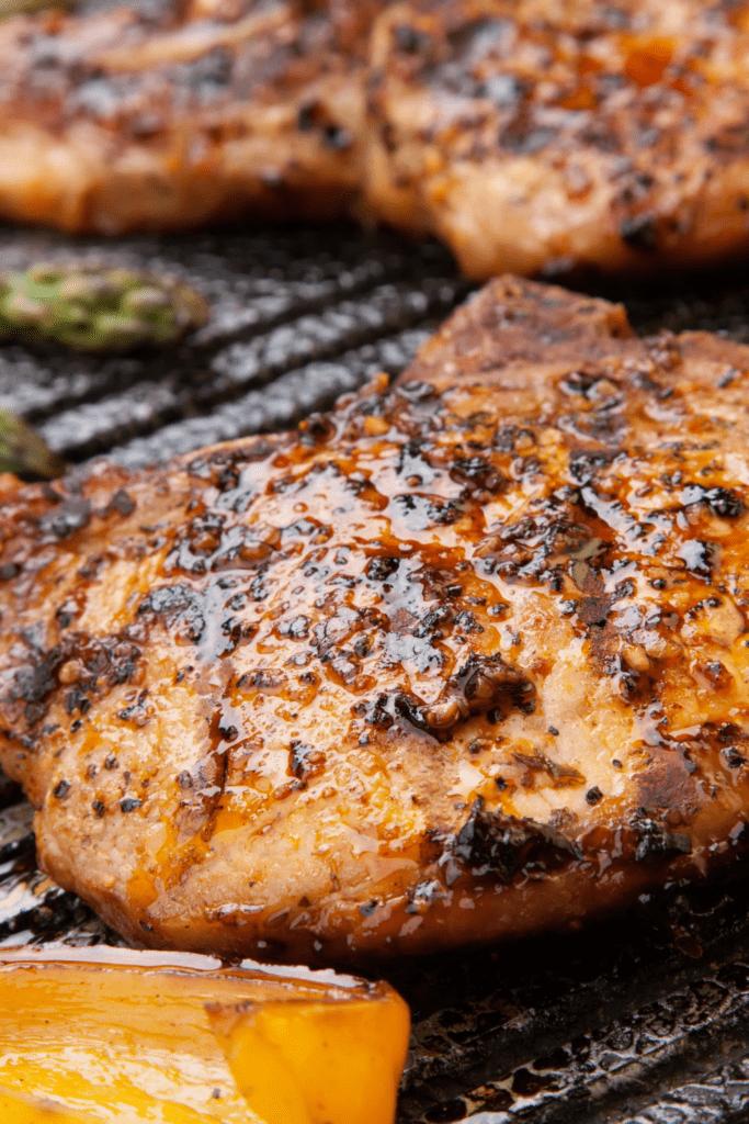 Barbecue Grilled Porkchop