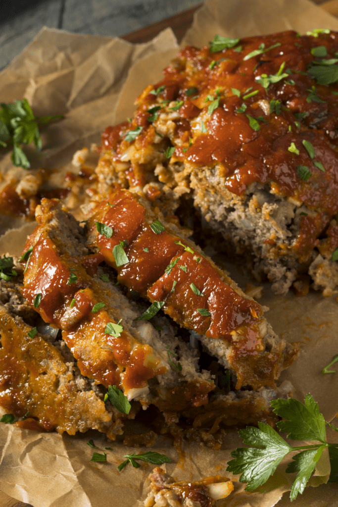 Homemade Spicy Meatloaf