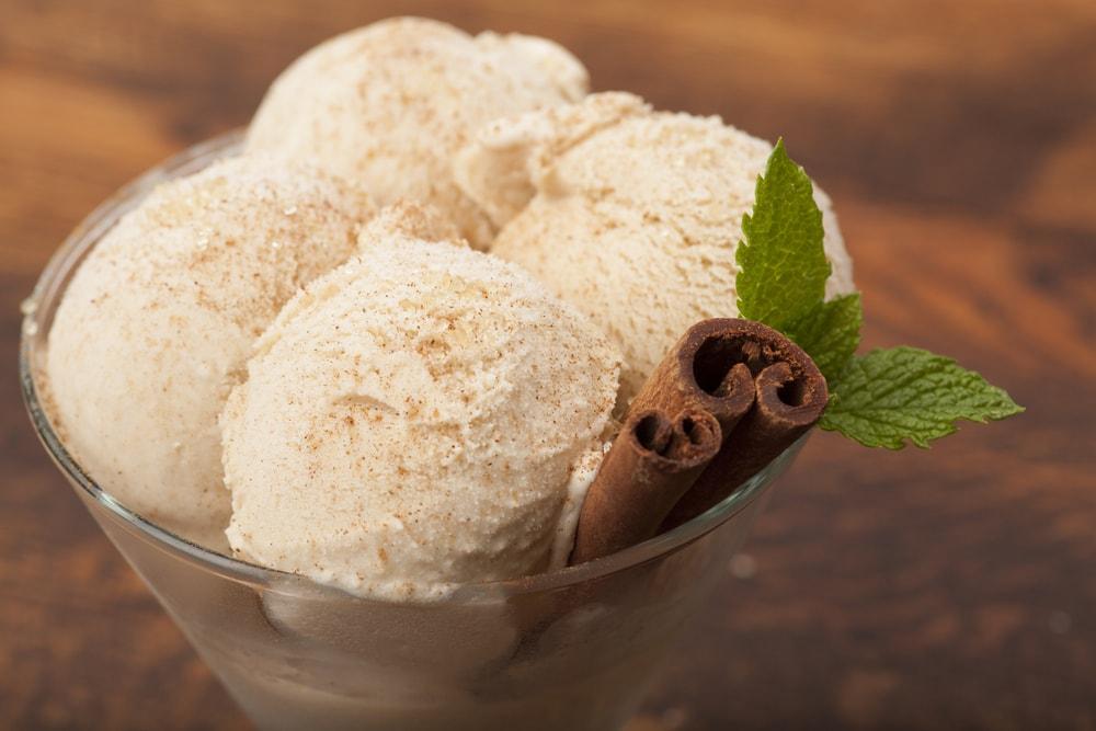 Horchata Ice Cream With Cinnamon