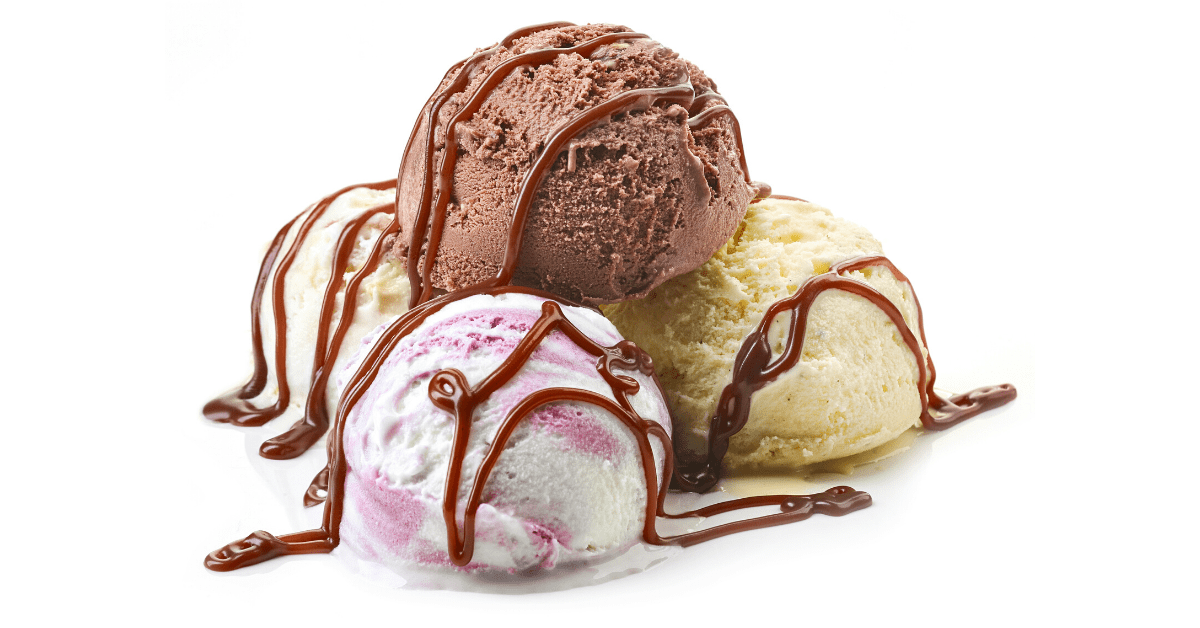 Ice Cream Flavors With Chocolate Syrup