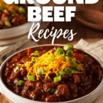 Leftover Ground Beef Recipes