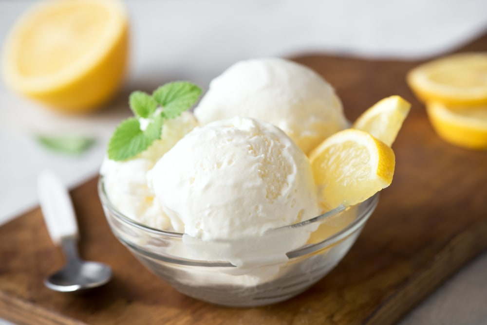 Lemon Custard Ice Cream