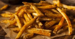 Popeye's Fries With Cajun Seasoning