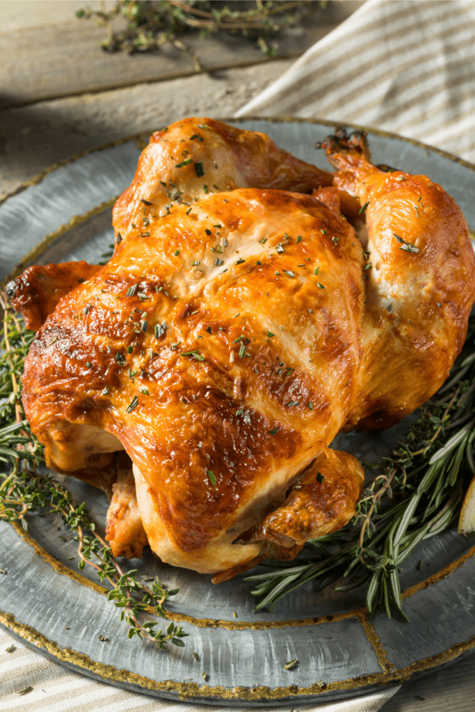 Delicious Homemade Rotisserie Chicken