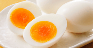 Soft Boiled Eggs on A Plate