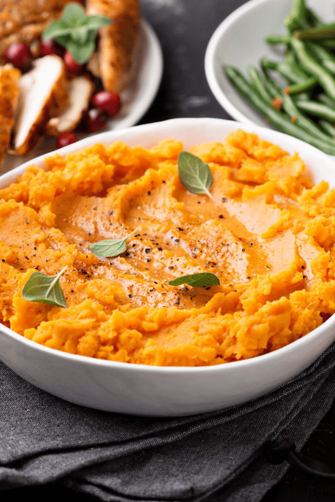 Whipped Sweet Potatoes with Butter