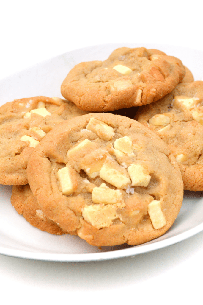 Homemade White Chocolate Chip Cookies