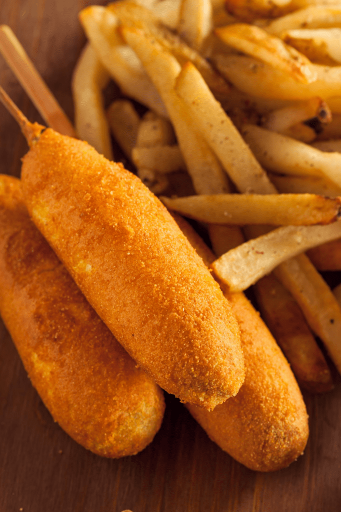Corn Dogs and Fries