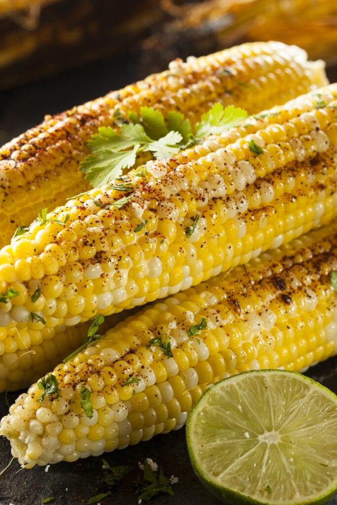 Homemade Corn on The Cob