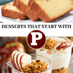 Desserts That Start With P Pin