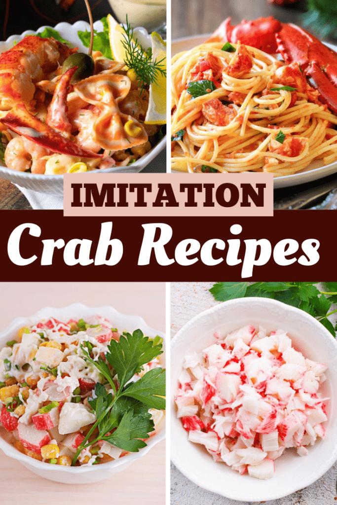 Imitation Crab Recipes